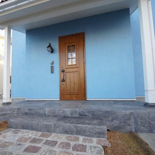 ムーミンの家にあこがれて選んだブルーのMaman