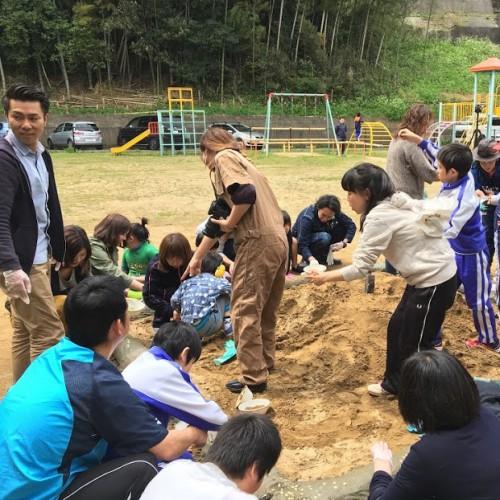 みんなで楽しんだ♪砂場プロジェクト!!