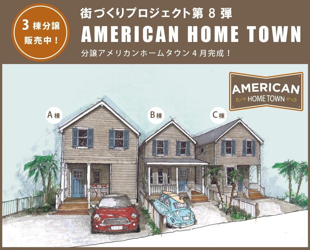アメリカンホームタウン分譲TOP